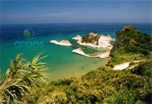 Bucht in Korfu, nähe Paleokastritsa