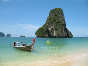 Boot in Krabi