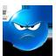 Wütender Smiley - schlecht bewertet