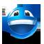 Lachender Smiley - gut bewertet