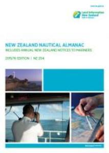 Buchcover zu New Zealand Hydrographic Authority / LINZ (Land Information New Zealand)