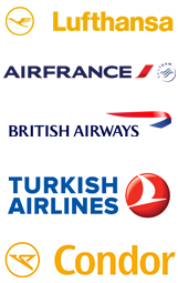 Internationale Fluggesellschaften
