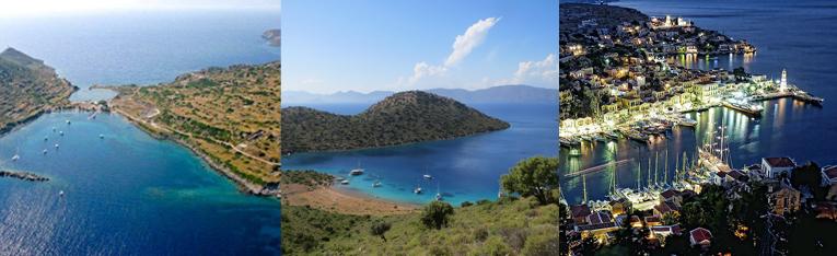 Yachtcharter Flottille Segeltörn Segelurlaub Yachturlaub Türkei Griechenland Ägäis Bucht © Yildiz Yachting