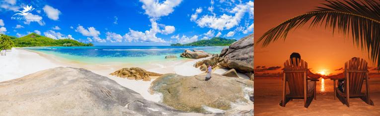 Yachtcharter Flottille Segeltörn Segelurlaub Yachturlaub Seychellen Strand Paradies Hochzeit Heiraten Indischer Ozean Trauminseln Inselwelt © Fremdenverkehrsamt Seychellen