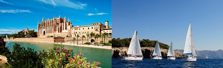Flottille Sunsail Katamaran Mallorca Mittelmeer Palma Balearen Segeln Segelurlaub Yachturlaub