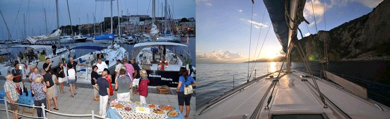 Kulinarik-Flottille in Italien