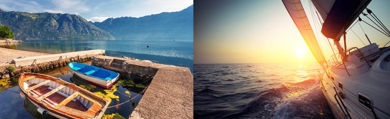Yachtcharter Segeltörn Segelurlaub Yachturlaub Oneway Mittelmeer Montenegro Türkei © Fotolia.com: S Kushch Dmitry, Dudarev Mikhail