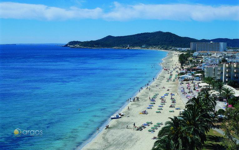 Playa d´en Bossa auf Ibiza