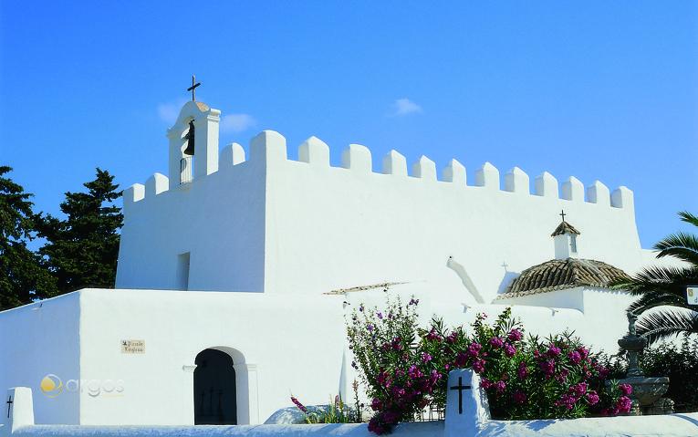 Wehrkirche von San Jorge de las Salinas (Sant Jordi)