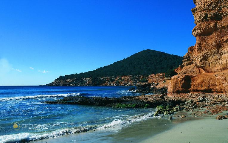 Strand von Sa Caleta