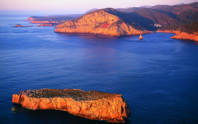 Insel Murada und Port Benirrás
