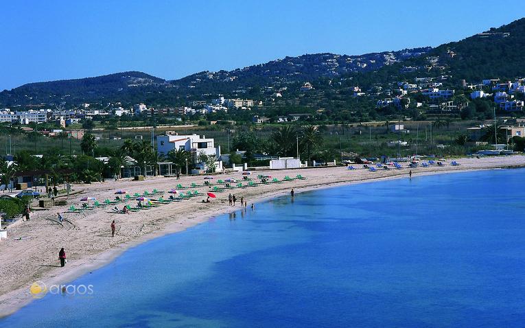 Strand Talamanca in Santa Eulalia
