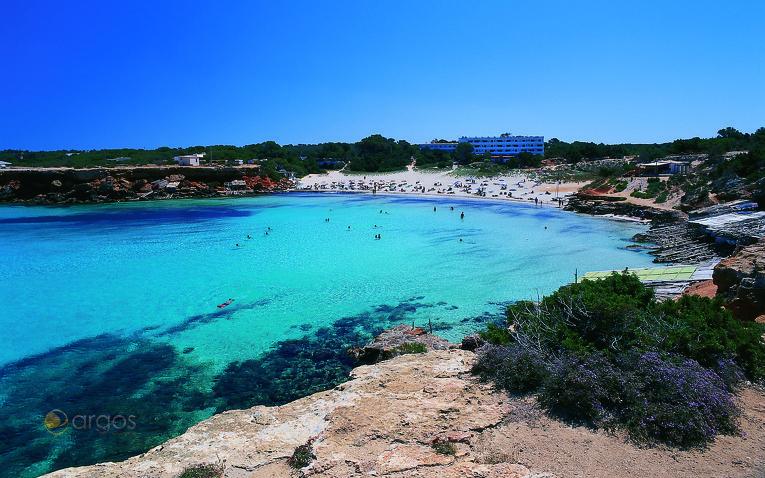 Cala Saona auf der Insel Formentera