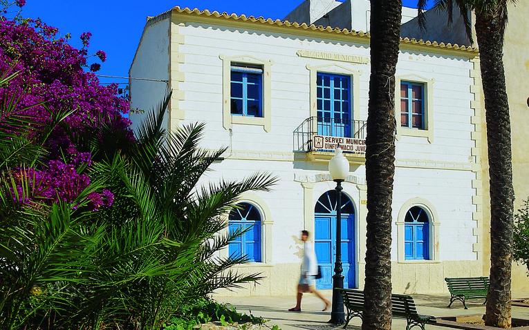 Rathaus von San Francisco Javier auf Formentera