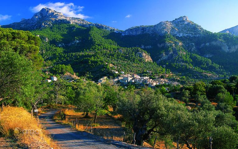 Landschaft von Estellencs