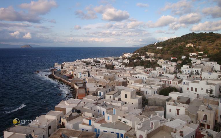 Inselhauptstadt Mandraki auf Nissyros