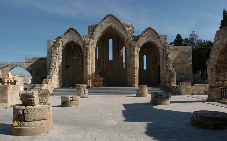 Großmeisterpalast auf der Insel Rhodos