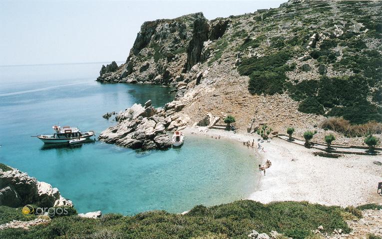 Traumhafte Bucht auf der Insel Karpathos
