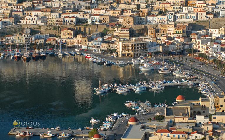 Haupthafen von Kalymnos