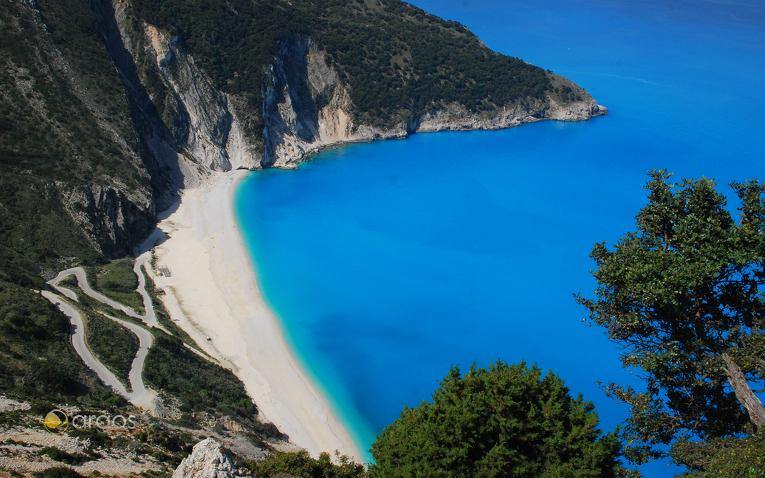 Traumhafte Bucht  auf der Insel Kefalonia
