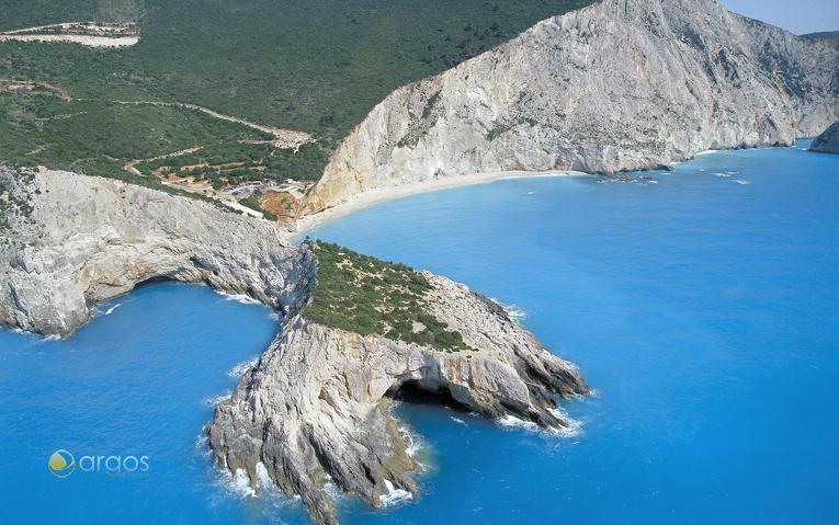 Küstenabschnitt der Insel Lefkada