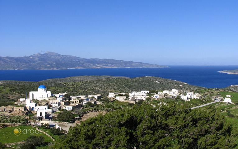 Ausblick über die Insel Iraklia