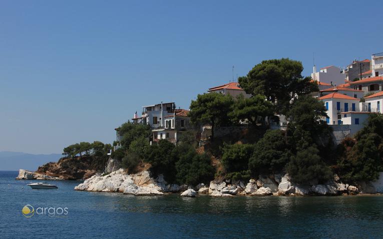 Küste der Insel Skiathos