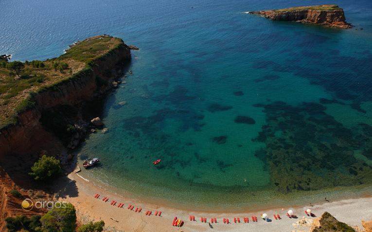 Malerische Bucht auf der Insel Alonissos