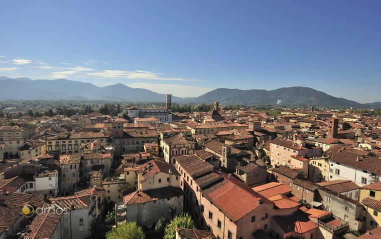 Blick über Lucca