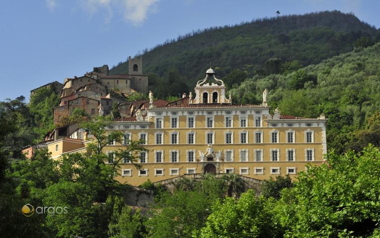 Landhaus in Collodi in der Provinz Pistoia