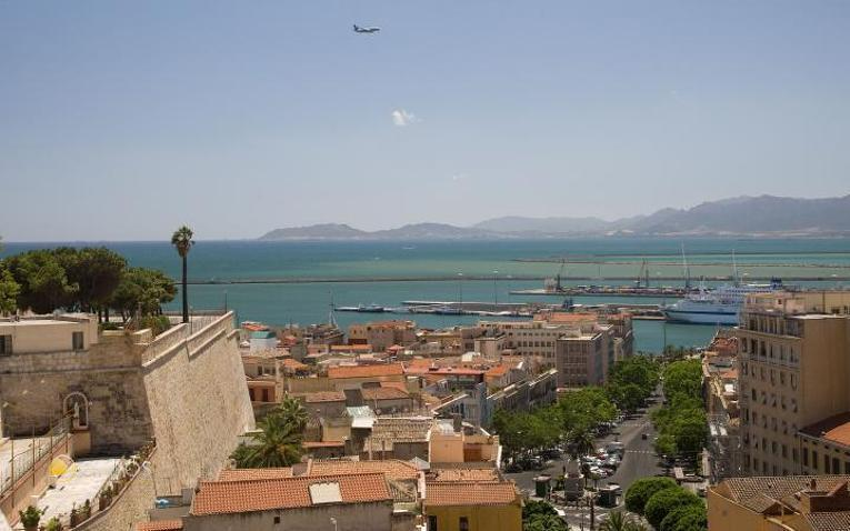 Aussicht über Cagliari