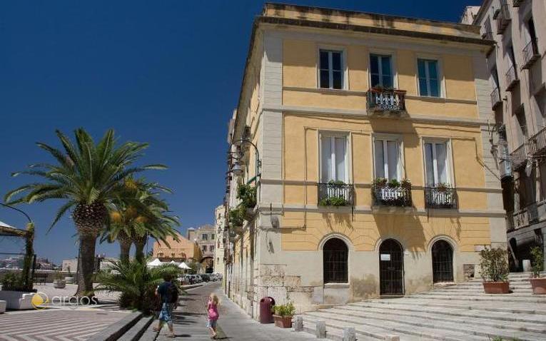 Promenade von Cagliari