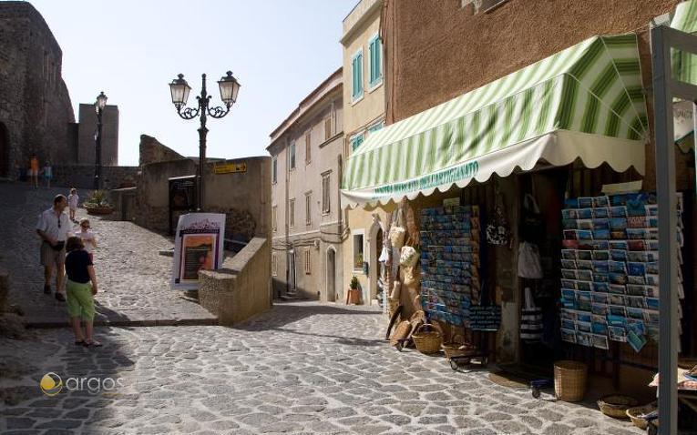 Straßen von Castelsardo