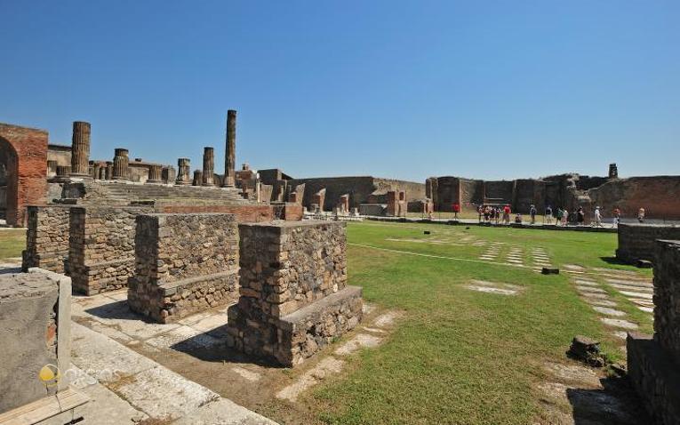 Historische Stätte Pompei