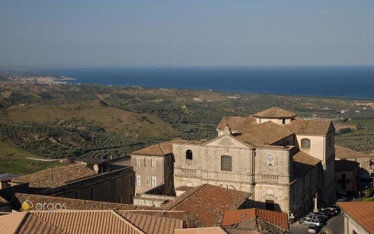 Blick auf die Kathedrale von Squillace