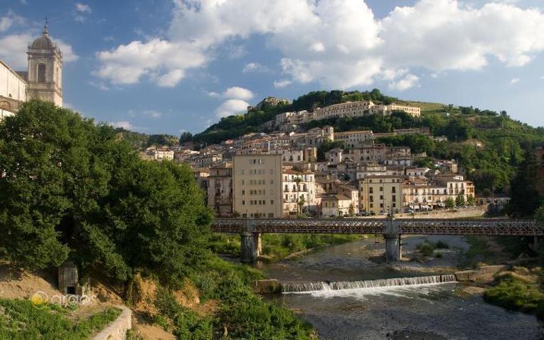 Blick auf die Stadt Cosenza