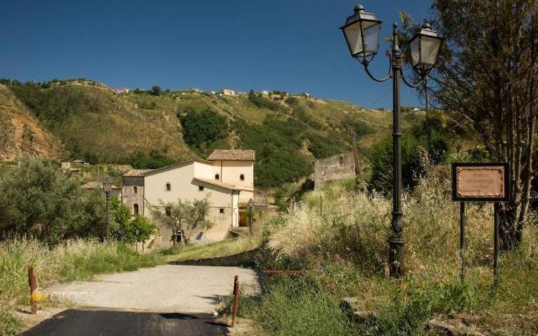 Historischer Park Vadue bei Cosenza