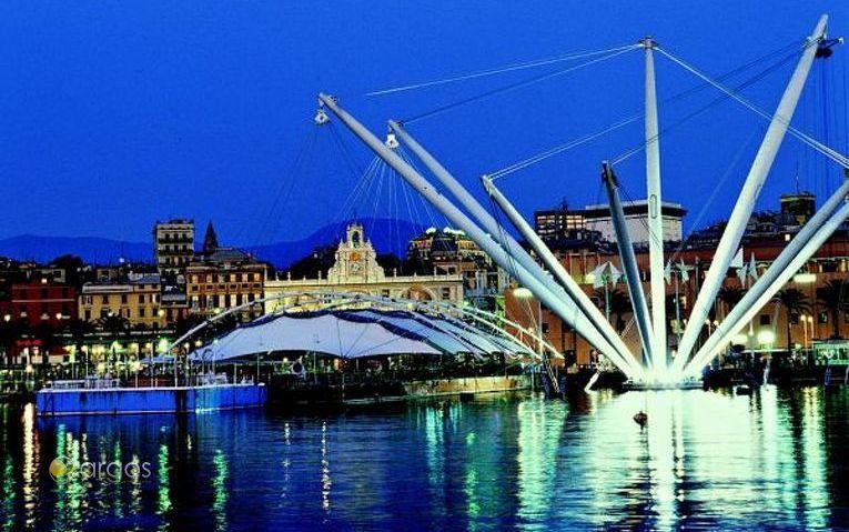 Der alte Hafen von Genua