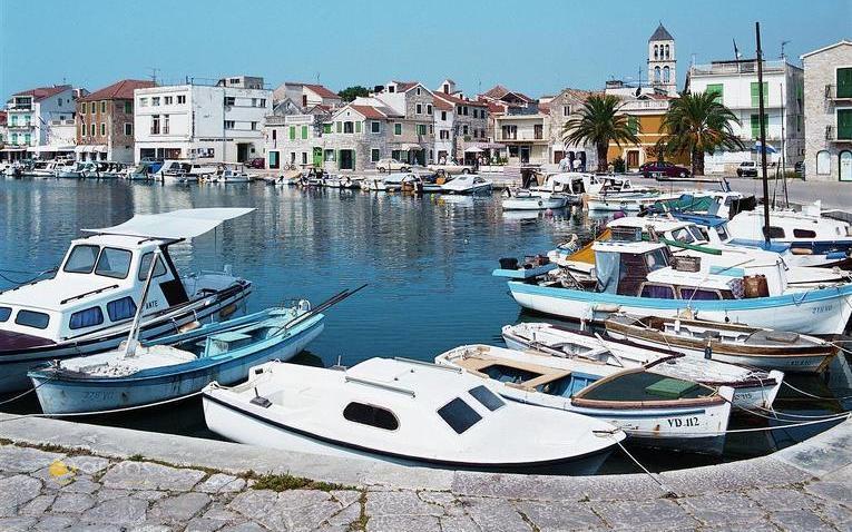 Hafen von Vodice