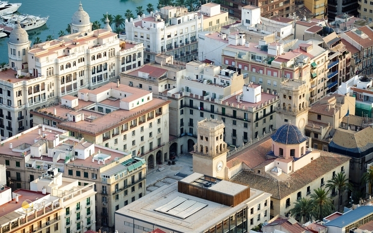 Plaza Mayor und Rathaus von Alicante