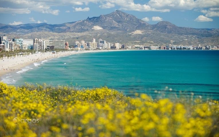 Strand San Juan in Alicante