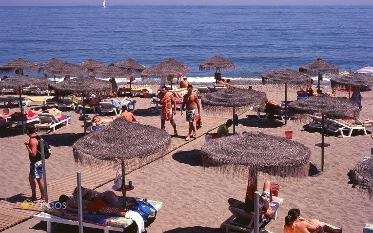 Strand Santa Ana in Benalmádena