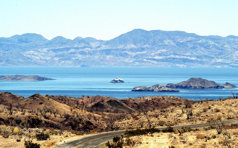 Landschaft der Baja California