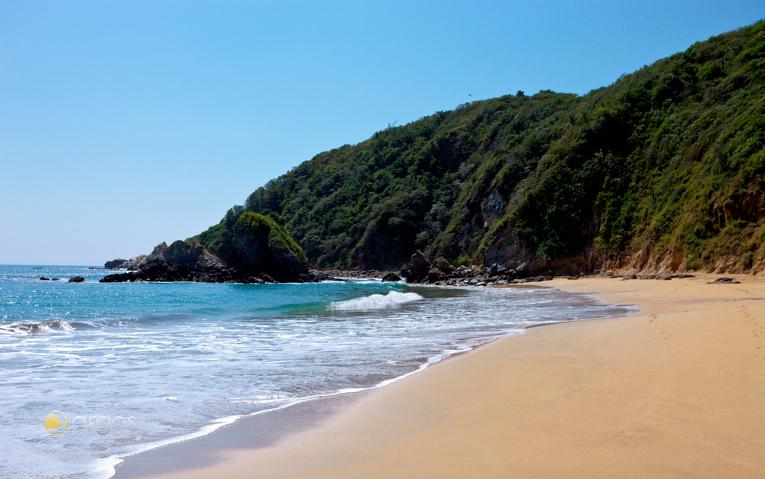 Puerto Escondido an der Pazifischen Küste