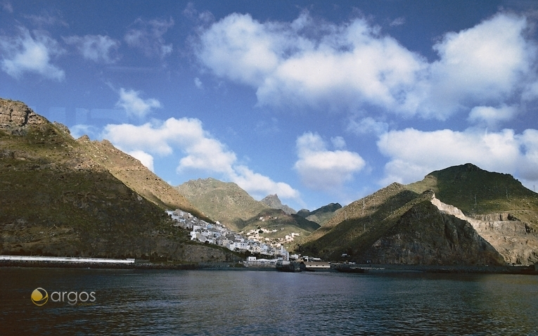 Blick auf die Ortschaft Igueste