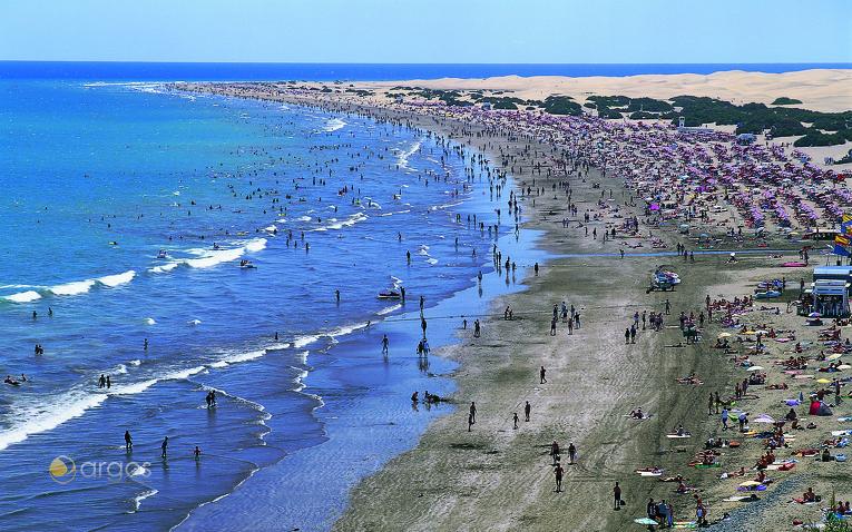 Playa del Inglés in Maspalomas