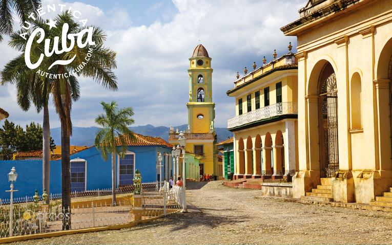 Stadtzentrum von Trinidad