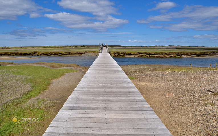 Sandwich Boardwalk auf Cape Cod