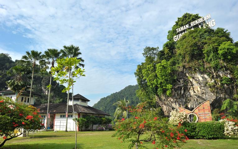 Erholungspark Gunung Lang in der Region Perak