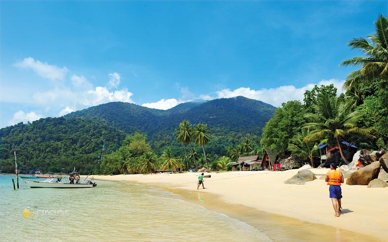 Traumhafter Strand von Tioman Island